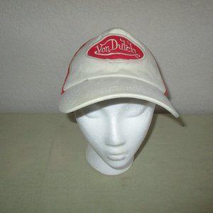 Vintage Von  Dutch Hat Snap Back Net